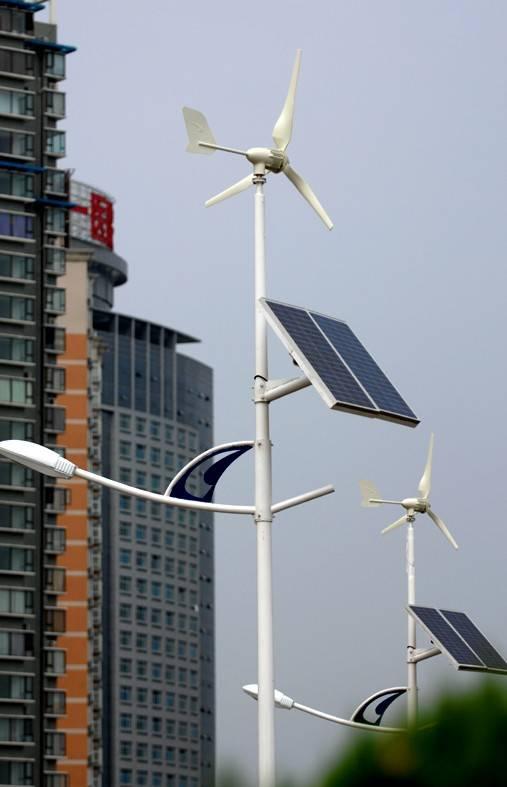 LED風景互補太陽能路燈