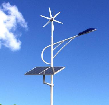 風景互補太陽能路燈